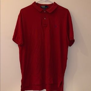 Men's Polo Ralph Lauren polo classic softtouch red